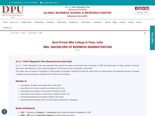 Get Admission in Best BBA College in India