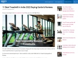 top 10 best treadmill in india for home workouts