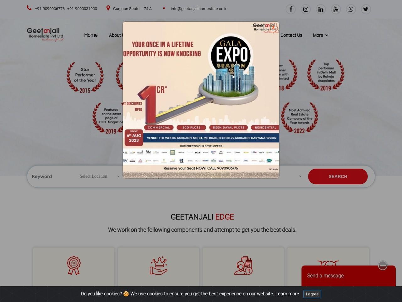 SCO plots – Shop, Retail Shops, Food Court at sec 83 & 84 Gurgaon