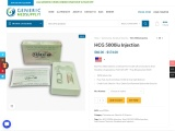 Hcg 5000IU Injection | Chorionic Gonadotropin | Uses, Side Effects, Dosages, Price, Reviews | Generi