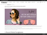 What is the most popular Ray-Ban sunglasses?