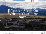 Effective Steps on Writing Your First Novel
