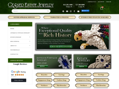 Gesner Estate Jewelry – Antique & Vintage Engagement Rings
