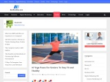 10 Yoga Poses For Seniors To Stay Fit and Healthy