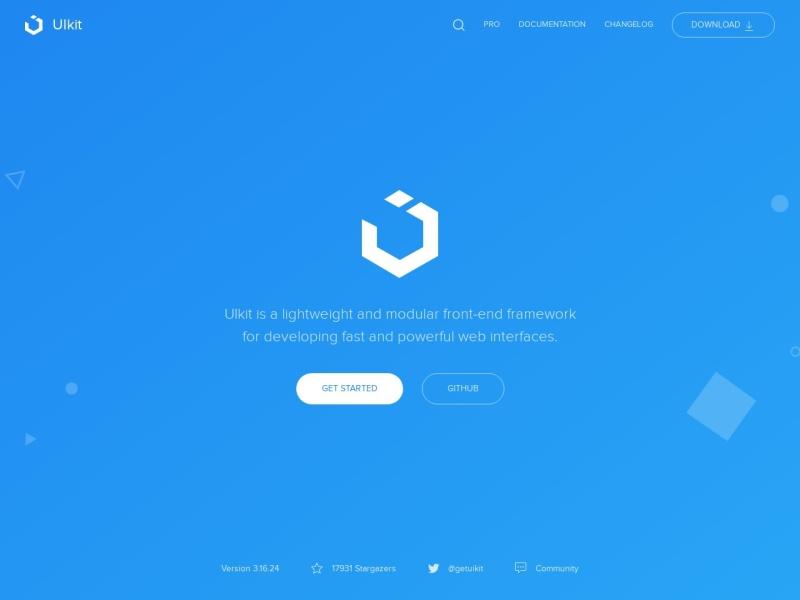 UIkit –front-end framework