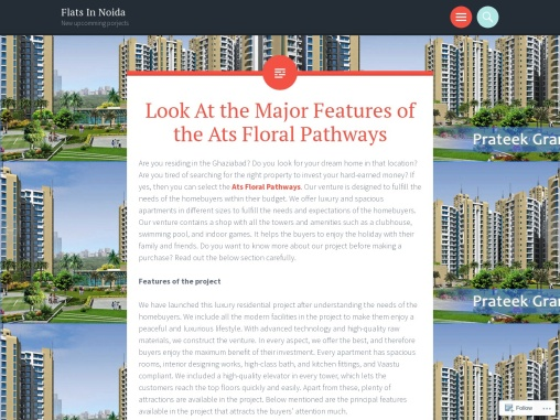 Look At the Major Features of the Ats Floral Pathways