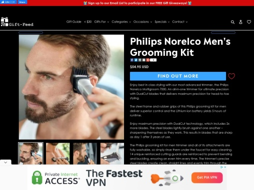 Gifts for Him | Grooming Gifts & Gifts For Men