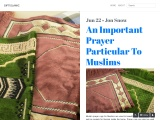 An Important Prayer Particular To Muslims