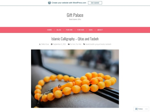 Prayer Beads Shop – Islamic Calligraphy – Qitas and Tasbeh