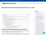 Stainless Steel 347 Round Bars Manufacturer in India