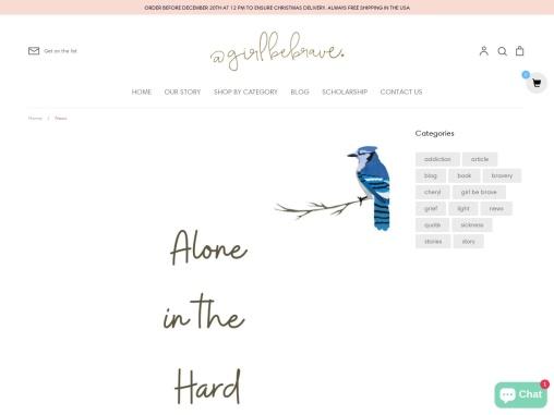Girl Be Brave  Buy online Best inspiration book