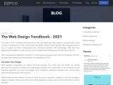 The Web Design Trendbook – 2021