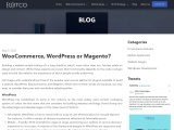 WooCommerce, WordPress or Magento?
