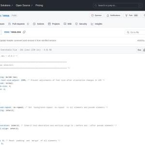 ress/ress.css at master · filipelinhares/ress · GitHub