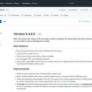 Releases · rsjaffe/MIDI2LR · GitHub