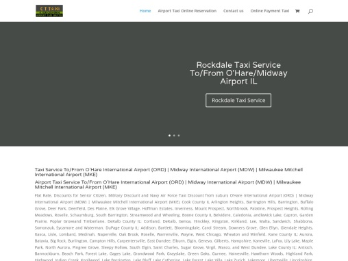 Glen Ellyn Wheaton Taxi Service To From O'Hare Midway Airport
