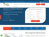Online Assignment Writing Services by expert assignment writers