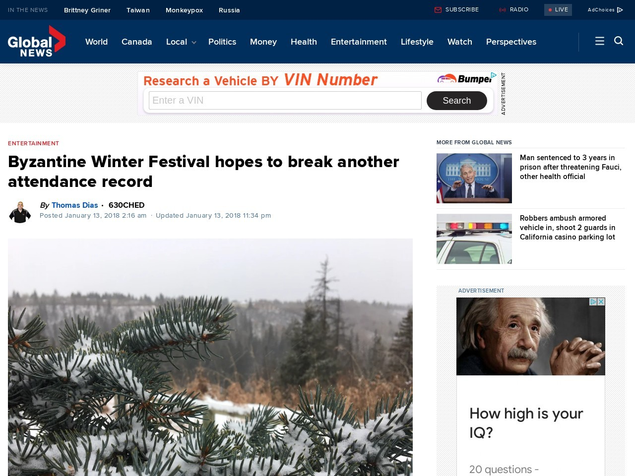 Byzantine Winter Festival hopes to break another attendance record