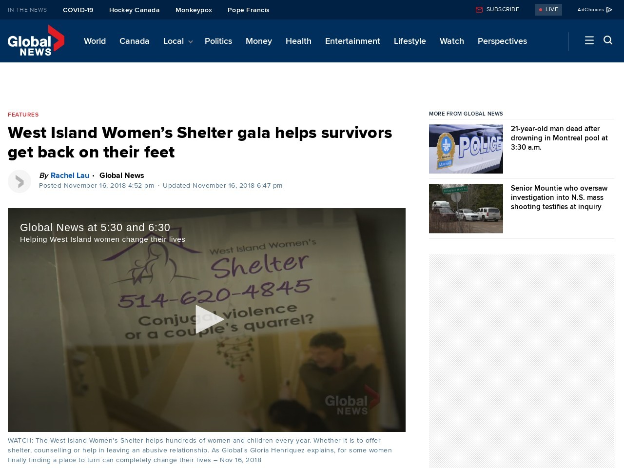 West Island Women's Shelter gala helps survivors get back on their feet