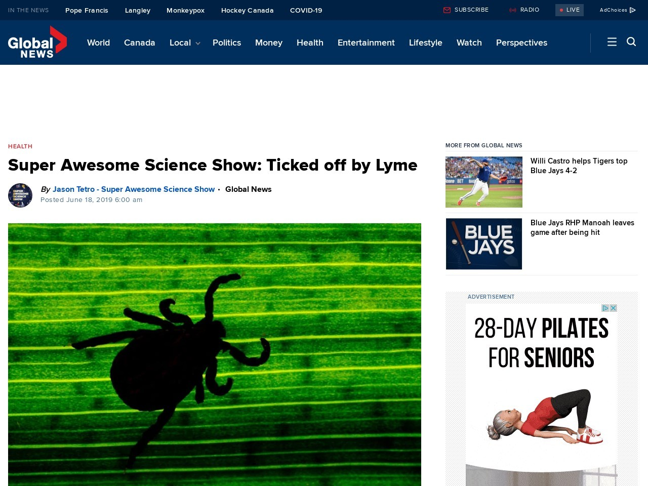 Super Awesome Science Show: Ticked off by Lyme