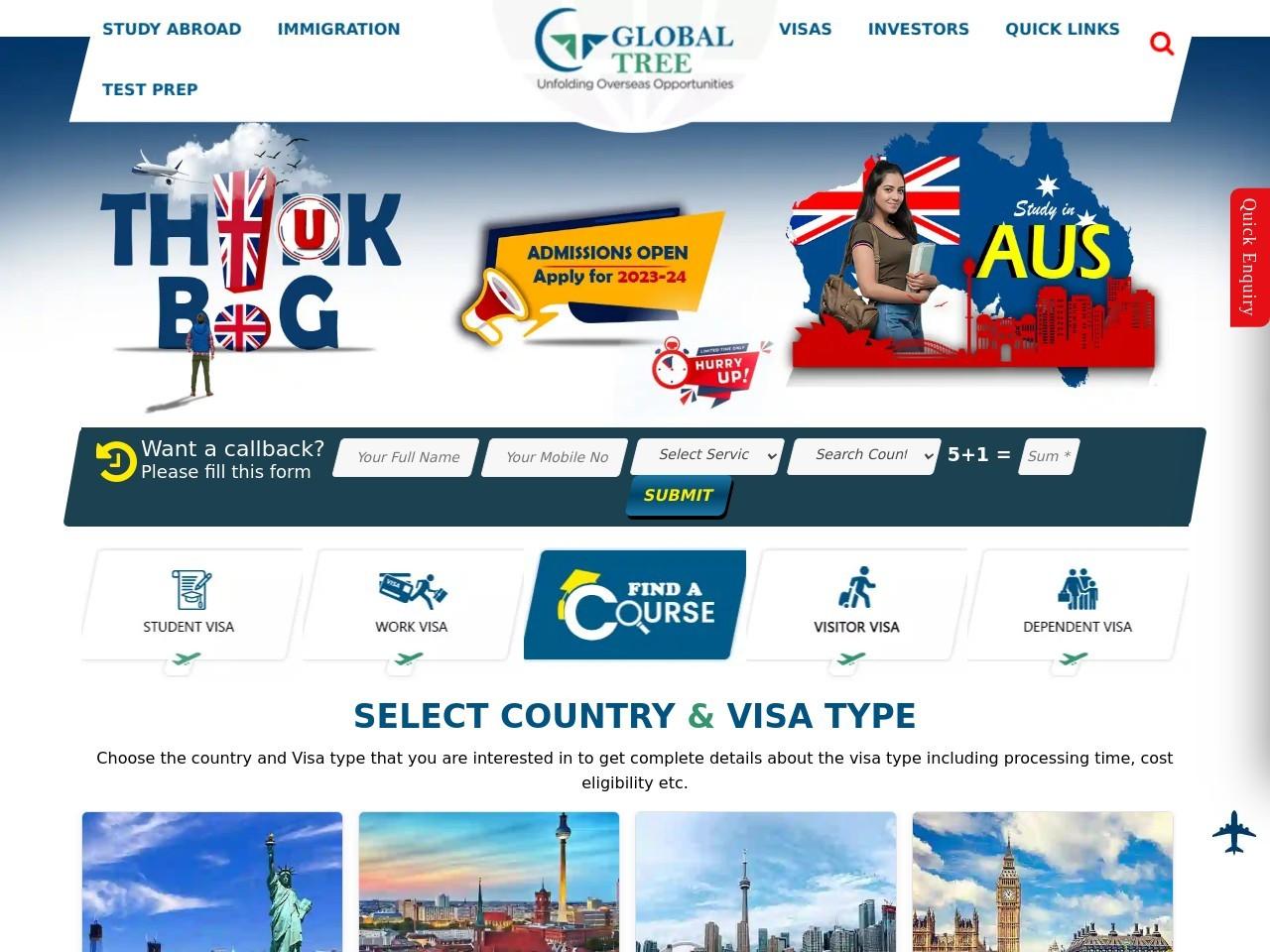 The Best Canada PR/Visa Immigration Advice You Will Get In Himayatnagar @ Global Tree