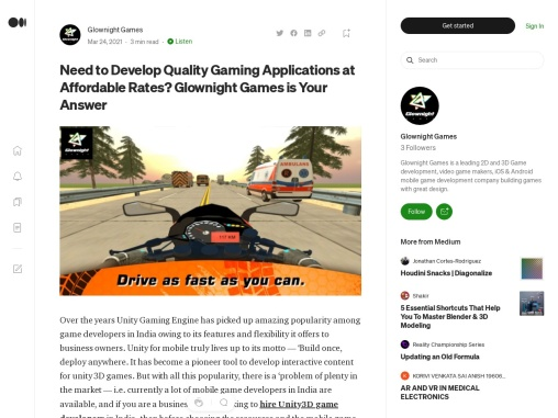 Develop Quality Gaming Applications at Affordable Rates