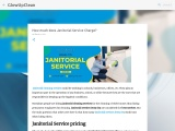 how much does janitorial service charge