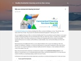 Why use commercial cleaning Services?