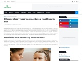 Best Bloody Nose Treatment – Herbal Medicine Online Pakistan