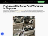 Professional Car Spray Paint Workshops In Singapore