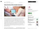 Which Antivirus Offers the Best Features?