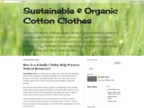 Sustainable T shirts that Help Make Bond with Nature