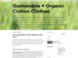 Maximum Health Properties with Organic Cotton Clothing