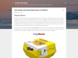 Fetch durable and attractive Burger Boxes at GoToBoxes
