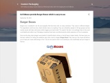 GoToBoxes provide Burger Boxes which is easy to use