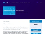 Title: WooCommerce Social Login – Social Login Extension For Woocommerce – GPL Mall