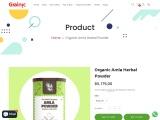 Buy Organic Amla Powder – Grainic
