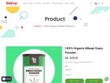 Organic wheatgrass powder – Grainic