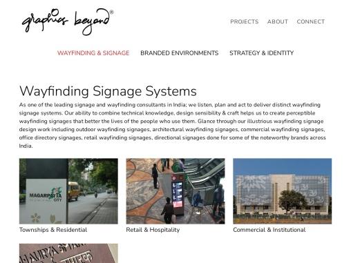 Signage & Wayfinding Company in Mumbai   Graphics Beyond