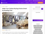 Wholesale Dresses UK – Smart Decisions To Take While Buying Clothes!