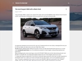 The new Peugeot 3008 as a rechargeable hybrid