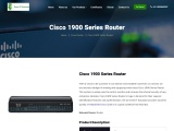 Refurbished and USed Cisco 1900 series router