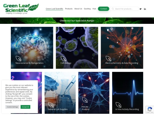 Scientific Research Instruments | Lab Equipment | Greenleaf