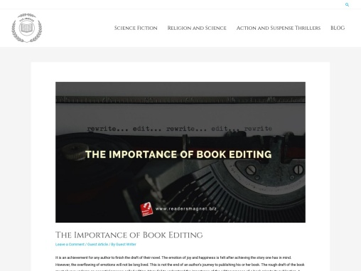 The Importance of Book Editing – Greg Arsdale