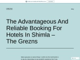 Find the Best 5 star Hotels in Shimla