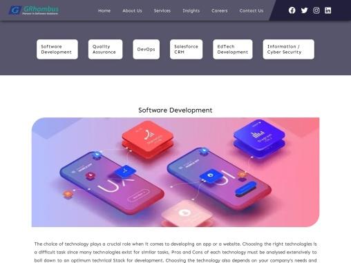 Custom Software Development in UK | Software Development Company UK, USA