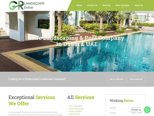 GR Landscaping Contractor Dubai