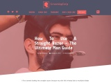 How to use a Straight Razor – The Ultimate Man Guide – Grooming Corp