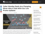 Black Friday Deals Are Changing By The Hour, Never Miss A Sale With Our Live Promo Updates