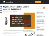 Is your Amazon Seller Central Account Suspended?